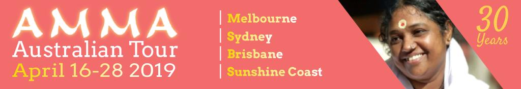 Amma's Australian Tour 2019